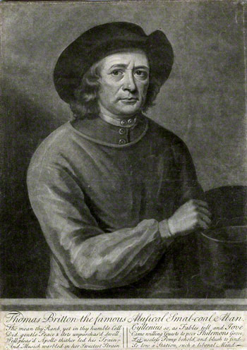 facsimile of early-18th-century portrait engraving