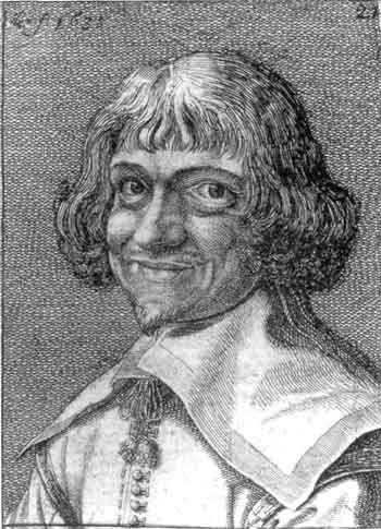 facsimile of early-17th-century portrait etching