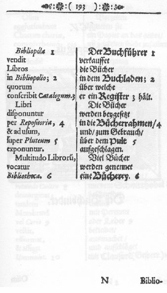 facsimile of mid-17th-century printed page