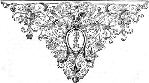 Tailpiece vignette from Kircher's _China Monumentis_ (Amsterdam, 1667)